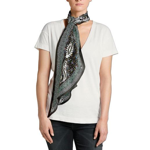 Zadig & Voltaire Hippie-Tuch Schal, Schluppe, Stirnband, Gürtel, Taschen-Verzierung, ... Kaum ein Trend-Accessoire ist so vielseitig!