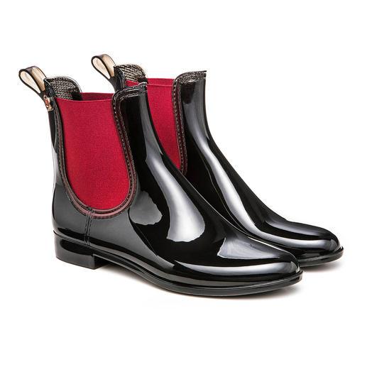 M Missoni Rain-Booties Missonis Laufsteg-Look für Schmuddelwetter: Trendige Rain-Booties.