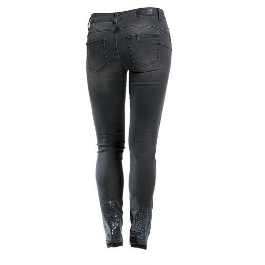 """Liu Jo Jeans Bottom up """"Paillette"""" Kaum eine Skinny-Jeans lässt Ihren Po knackiger aussehen als die """"Bottom up"""" von Liu Jo Jeans, Italien."""