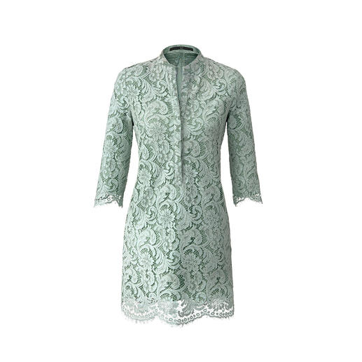 Sly 010 Spitzenkleid Top-Thema Hemdblusenkleid: Selten couturig statt gewohnt sportlich.
