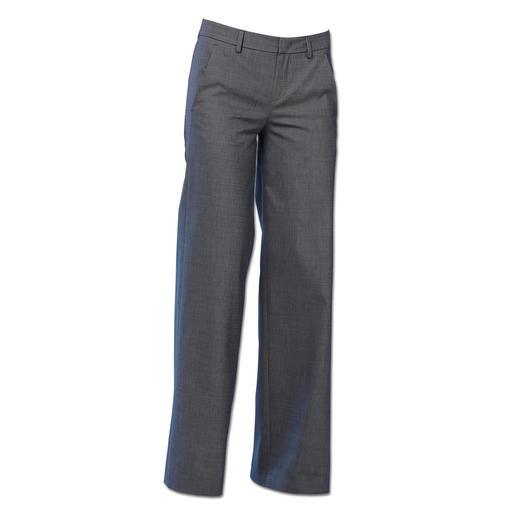 Strenesse Denim-Weste oder Flared-Jeans Selten ist Denim so elegant und businesstauglich wie bei Strenesse.
