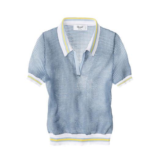 Blugirl Polo-Pulli oder Bleistiftrock Feminin verspielter Blugirl-Look vereint mit angesagtem Sporty-Style.