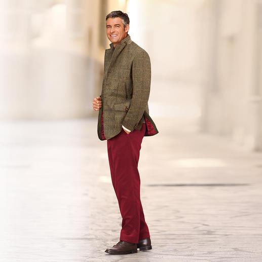 "Hunting-Jacket ""Irish Tweed"" Warm gefüttert: das Hunting Jacket aus seltenem irischen Tweed."