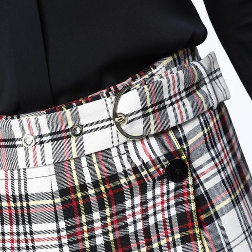 Pinko Kilt Vom Schotten-Klassiker zum Fashion-Favoriten 2017: Der feminine Kilt von Pinko.