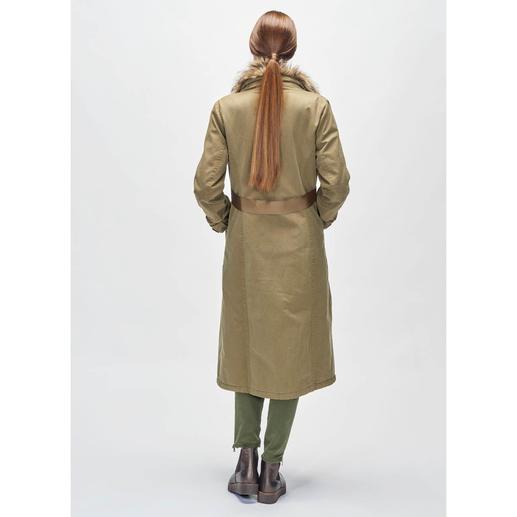 Pinko Parka-Mantel Neue Länge, noch mehr Styles: Der luxuriöse Parka-Mantel von Pinko.