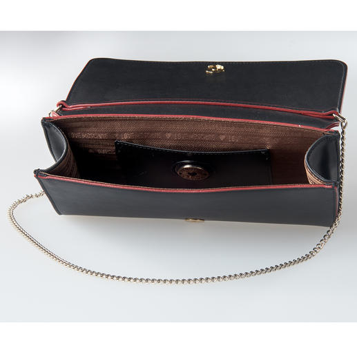 Love Moschino Chain-Bag Self-Portrait Keine beliebig geschmückte Tasche. Sondern ein Love Moschino-Liebhaberstück mit Kult-Charakter und Sammlerwert.