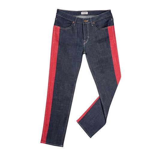 Zadig & Voltaire Galon-Jeans Galon-Jeans auf rockig-coole Zadig-Art: Gemalt statt gewebt.