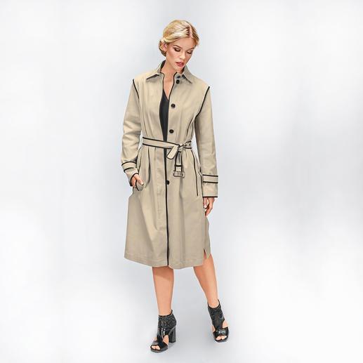 Strenesse Couture- Trench Der Trenchcoat mit Couture-Charakter: bei Strenesse zu einem sehr erschwinglichen Preis.