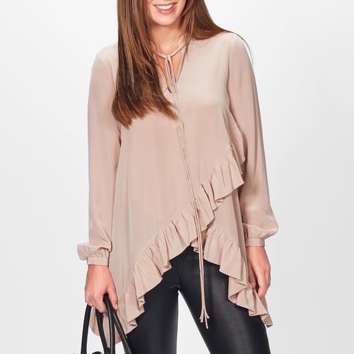 SLY010 Volant-Bluse Fünf Fashion-Facts, vereint auf außergewöhnlich elegante Art. Von SLY010.