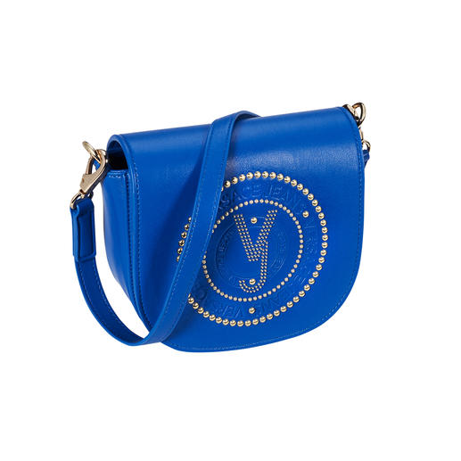 Versace Jeans Blue-Bag Blaues Style-Wunder: die Mini-Logo-Bag in angesagtem Electric Blue.
