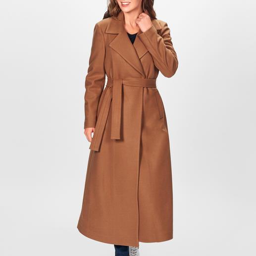 Liu Jo Maxi-Mantel Fashion Favorit Maxi-Camel-Coat: Vom italienischen In-Label Liu Jo. Für nur 199,95 Euro.