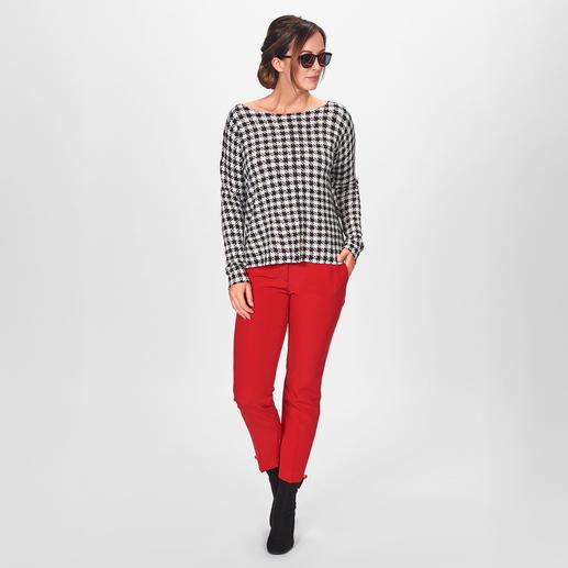 Liu Jo Digitalprint-Shirt Fashion-Favourite: Muster-Klassiker. Perfekt als Digital-Druck auf den beliebten Viskose-Shirts von Liu Jo.