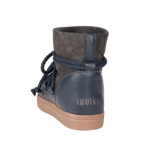 Inuikii Slim-Line-Boots oder Glamour-Boots Winter Must-have Lammfell-Boots: besonders stylish beim Schweizer High-Fashion-Label Inuikii.
