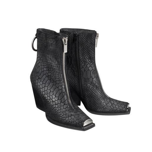 Jeffrey Campbell Cowboy-Boot Metallblende Trend-Hybrid aus Cowboy- und Sock-Boots. Mit der typischen Extravaganz von Jeffrey Campbell.