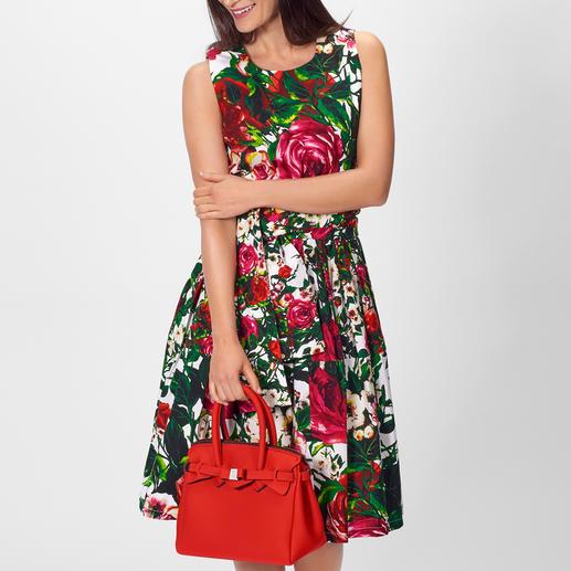 Samantha Sung Rosen-Kleid Key-Look Kleid + Blüten-Trend: schon immer die Spezialität von Samantha Sung.