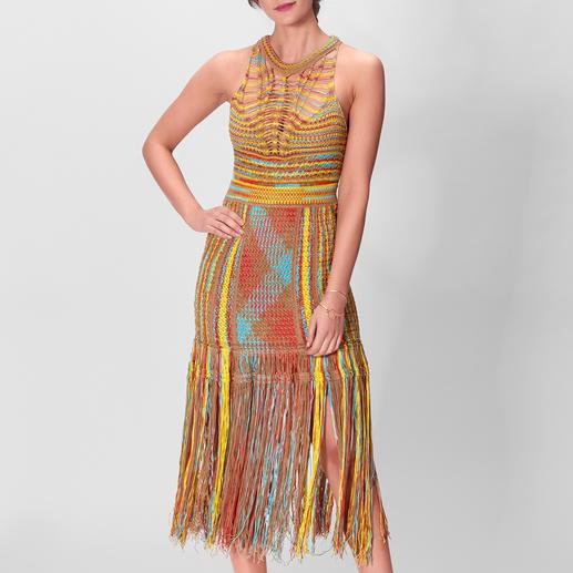 M Missoni Ethno-Kleid Summer-Love Hippie-Ethno-Kleid – aufwändig gestrickt, gehäkelt und geknüpft. Vom Meister der Maschen: M Missoni.