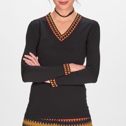 M Missoni Zickzack-Pulli oder M Missoni Zickzack-Strickhose Die wohl einzige Trend-Strickhose mit Wiedererkennungwert: modisches Masterpiece mit passendem Pulli.
