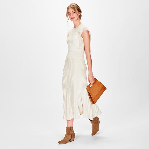 Pinko Fransen-Stricktop oder -rock 1 Outfit – 5 Trends – unzählige Kombinationsmöglichkeiten: der Strick-Zweiteiler vom italienischen It-Label Pinko.