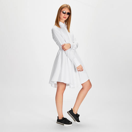 SLY010 Hemdblusen-Kleid Modisches Designer-Piece, zeitloser Allrounder und Bestseller zugleich: das Hemdblusenkleid von Sly010.