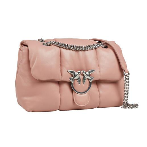 Pinko Puffer-Bag Begehrtes High-Fashion-Accessoire. Italienisches In-Label. Die Puffer-Bag von Pinko.