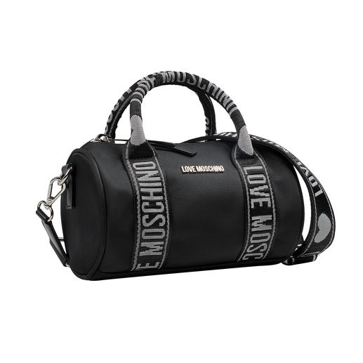 Love Moschino Sporty-Bag Modisch high. Preislich low: die Sporty-Bag vom italienischen In-Label Love Moschino.
