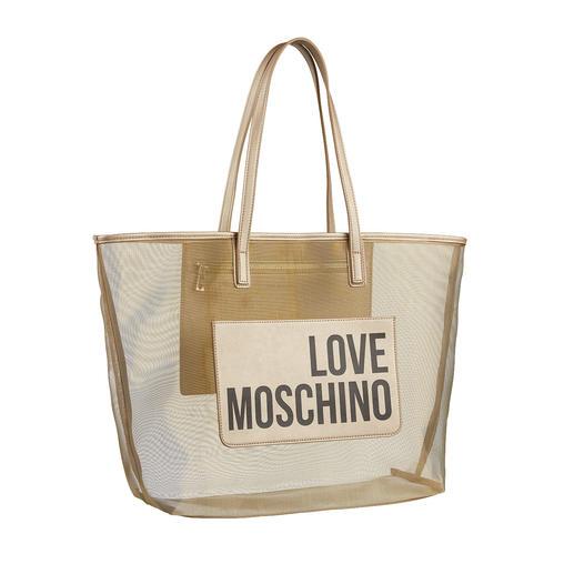 Love Moschino Mesh-Shopper Trend-Faktor: hoch. Preis: niedrig. Design: Love Moschino.