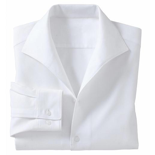 Schillerkragen-Hemd Schick und korrekt – ganz ohne Krawatte. Das Hemd mit klassischem Schiller-Kragen.