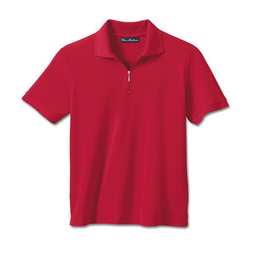 Coolmax®-Kurzarm-Polo Dieses Polo pillt nie. Läuft nicht ein. Behält die Farbe. Kühlt & trocknet 2x so schnell wie ein Baumwoll-Polo