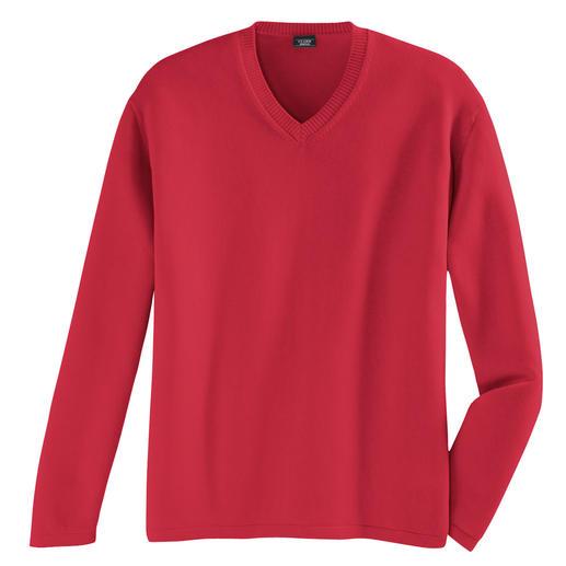 Pima-Pullover Pima-Cotton, 12-Gauge: Genau der richtige Sommerpullover.
