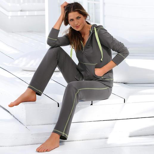 CW Light-Homesuit - Endlich ein gemütlicher Homesuit, der nicht ausbeult. Von Wäschespezialistin Cornelie Weiss.
