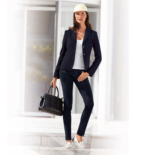 S.O.S Jacquard-Jeans Viel langlebiger als die meisten modischen Muster-Jeans. Und viel eleganter.