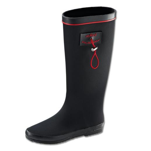 redfoot Falt-Gummistiefel - Der Gummistiefel für unterwegs. Flexibel. Faltbar. 100 % wasserdicht.