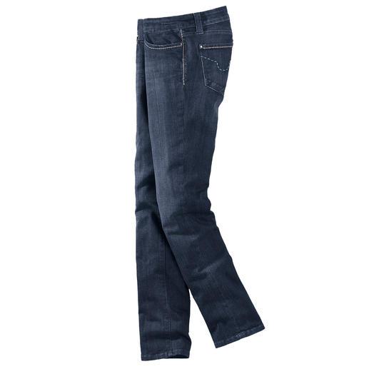 S.O.S. Jeans T400® - Keine Knitter. Keine Sitzfalten. Und immer gepflegt. Die hochelastische T400®-Faser macht's möglich.