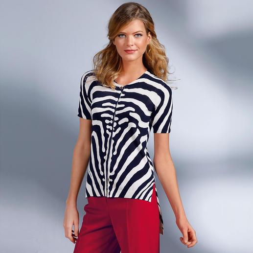 cavalli CLASS Zebra-Jäckchen - Zebra-Print von cavalli CLASS passt zu jeder Gelegenheit.