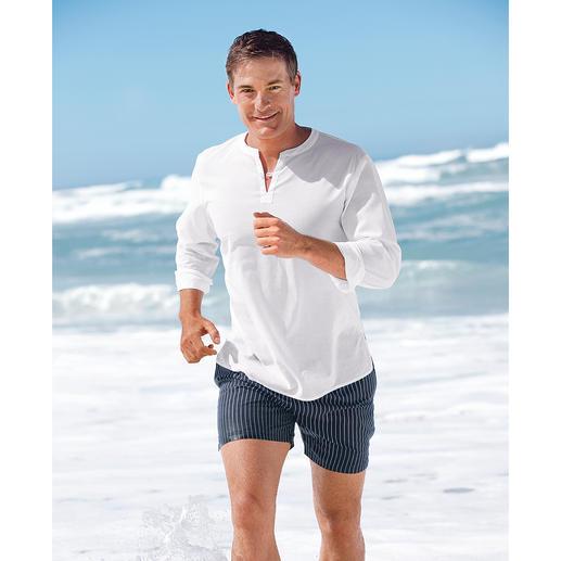 Swim & Dry-Badeshorts Die Badeshorts, die nie am Körper klebt. Und nie zu bunt ist.