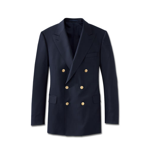 Eduard Dressler Admiral-Clubblazer - Aus feinem italienischen Tuch. Schneidermäßig verarbeitet von Eduard Dressler, seit 1929.