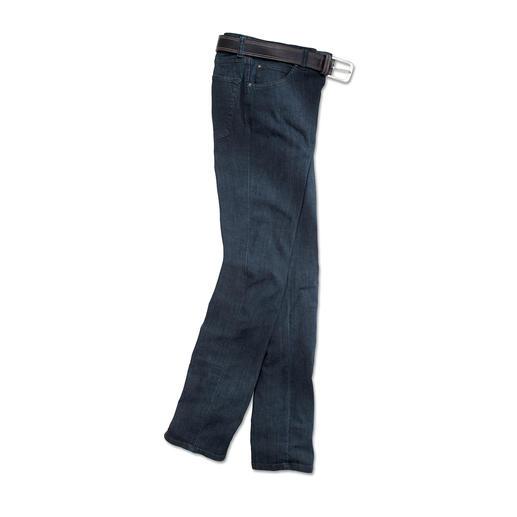 Die bequeme Luxusjeans mit feinstem Kaschmir. Luxuriöse Jeans die Sie sogar bürotauglich kombinieren können.