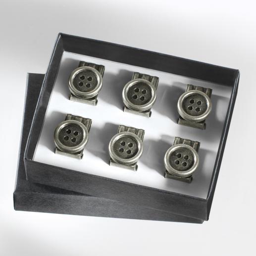 Hosenträger-Knopf-Clips Praktische Knopf-Clips für Ihre Hosenträger. Einfach an jeder Hose zu befestigen.