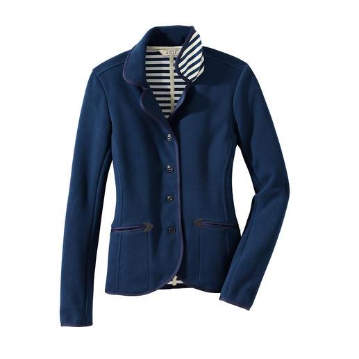 Aigle Fleece-Blazer Wind abweisender Thermotech®-Fleece in seiner wohl elegantesten Form. Von Aigle, Frankreich.