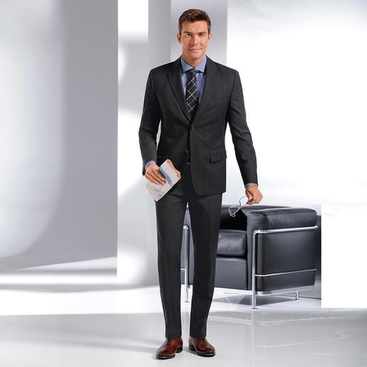 """Benbarton """"Undercover""""-Glencheck-Anzug - Lange gesucht: Businesstauglich dezentes Glencheck-Karo. Fein. Leicht. Weich. Und unempfindlich gegen Knitter."""