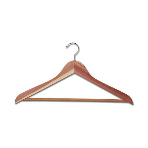 Cedar-Wood Kleiderbügel Erholung und Schutz für Ihre Kleidung.