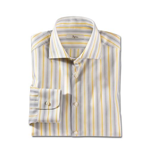 Ingram Sommerstreifen-Hemd - 6 verschiedene Streifen passen zu jedem Ihrer Sommer-Looks. In Business und Freizeit.