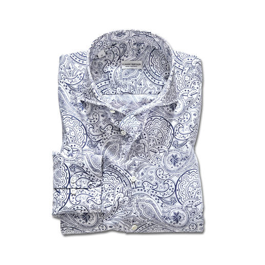 Claude Dufour Paisley-Hemd Als Krawattendessin ein Klassiker. Als Hemd topaktuell: das Paisley-Hemd im Exklusiv-Design von Claude Dufour.