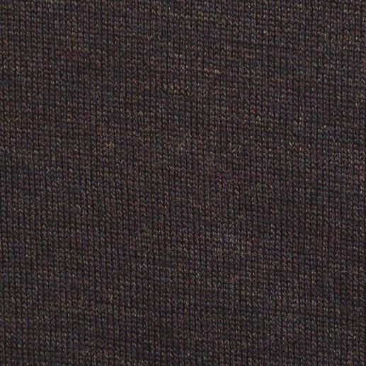 Handtaschen-Pulli, V-Ausschnitt Die ultraleichten Pullover von John Smedley passen in jede Handtasche.