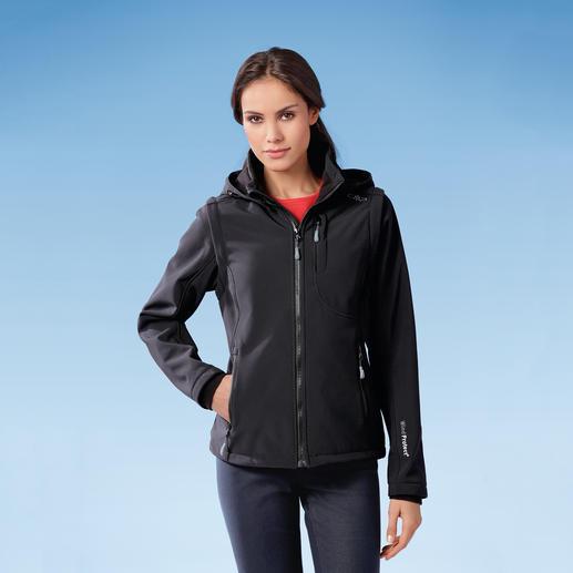 Soft Shell-Damenjacke Schlank, leicht und trotzdem warm. Jacke aus Soft Shell, mit WindProtect®.
