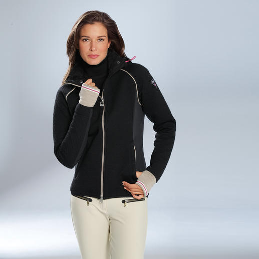 "Knitshell™ Damenjacke Funktional wie Softshell, chic wie Strick: ""Knitshell™"" von Dale of Norway."