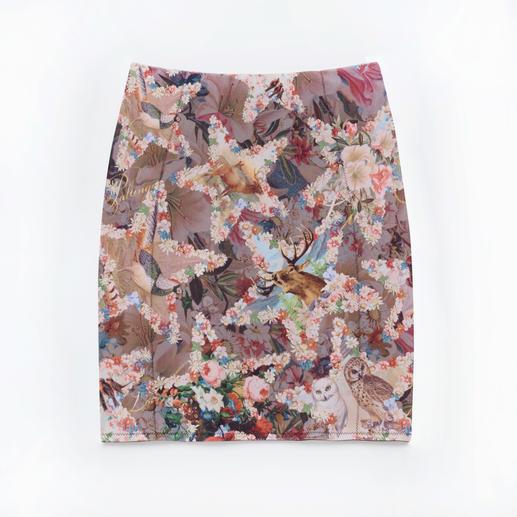 """Lola Paltinger Bleistift-Shape-Rock """"Sternenhimmel"""" Stylischer Sternenhimmel-Print. Unsichtbare Formkraft. Rock und Shapewear in einem."""
