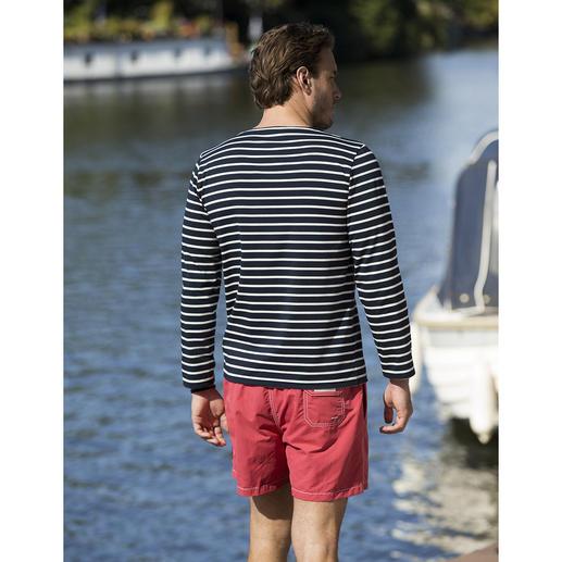 Bretagne-Shirt, lange Ärmel, Herren Das original Bretagne-Shirt. Fischer-Tradition seit dem 19. Jahrhundert. Von Saint James/Frankreich.