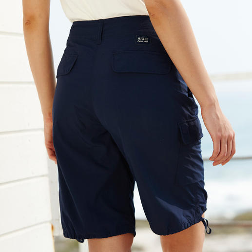 """Aigle Cargo-Shorts """"Retrostone"""" Funktionelle, vielseitige Outdoor-Shorts – aber zum erschwinglichen Preis. Schnelltrocknend und Atmungsaktiv."""