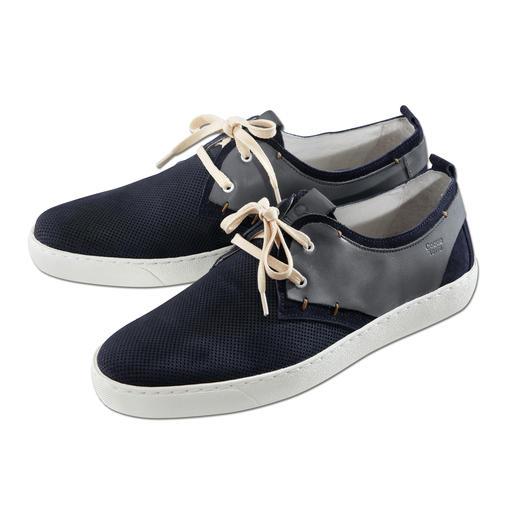 Shoemaker-Sneakers Edle Leder-Sneakers made in Portugal. Zum erfreulich günstigen Preis.